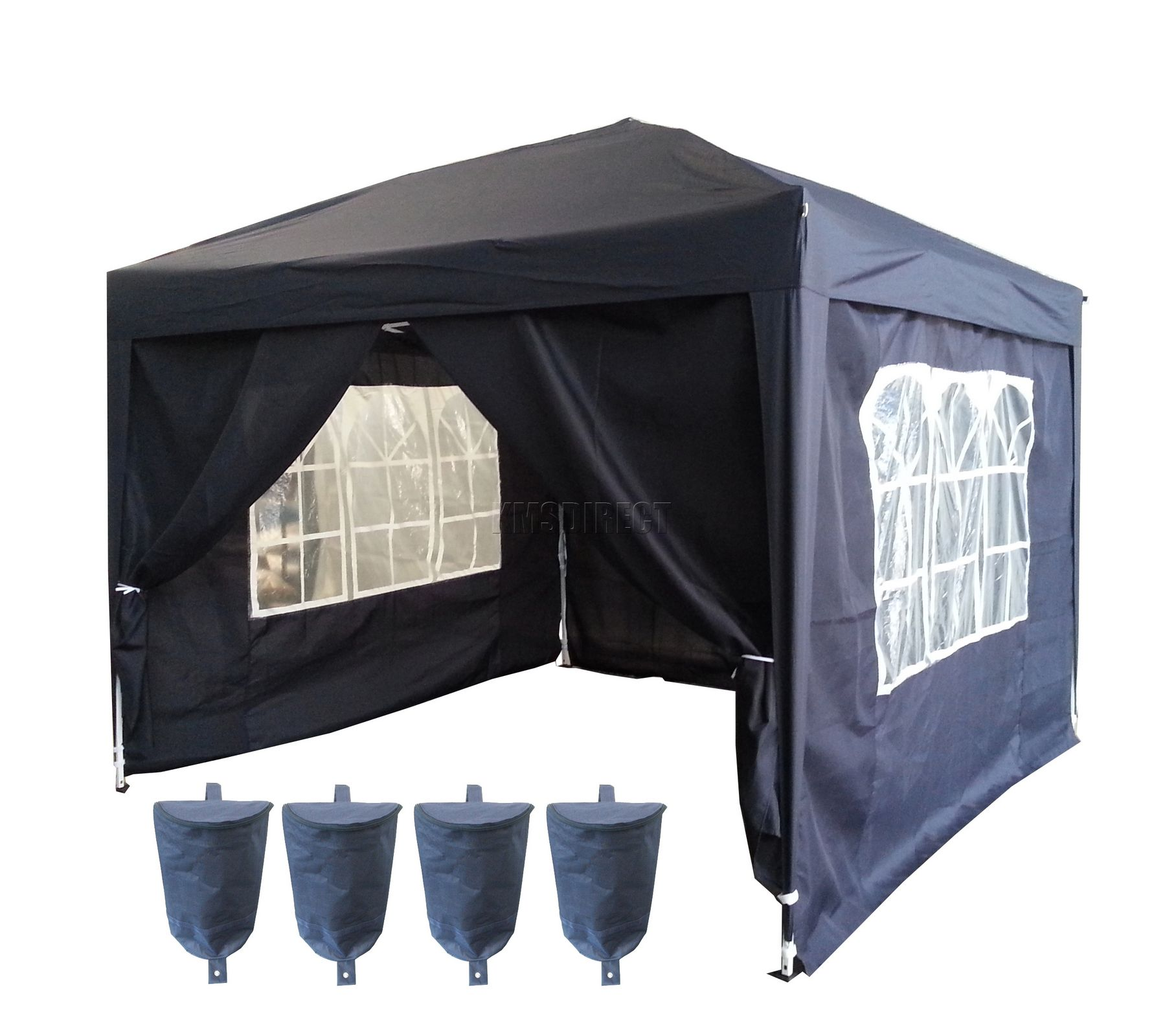 3m X 3m Pop Up Gazebo Waterproof Canopy Awning Marquee