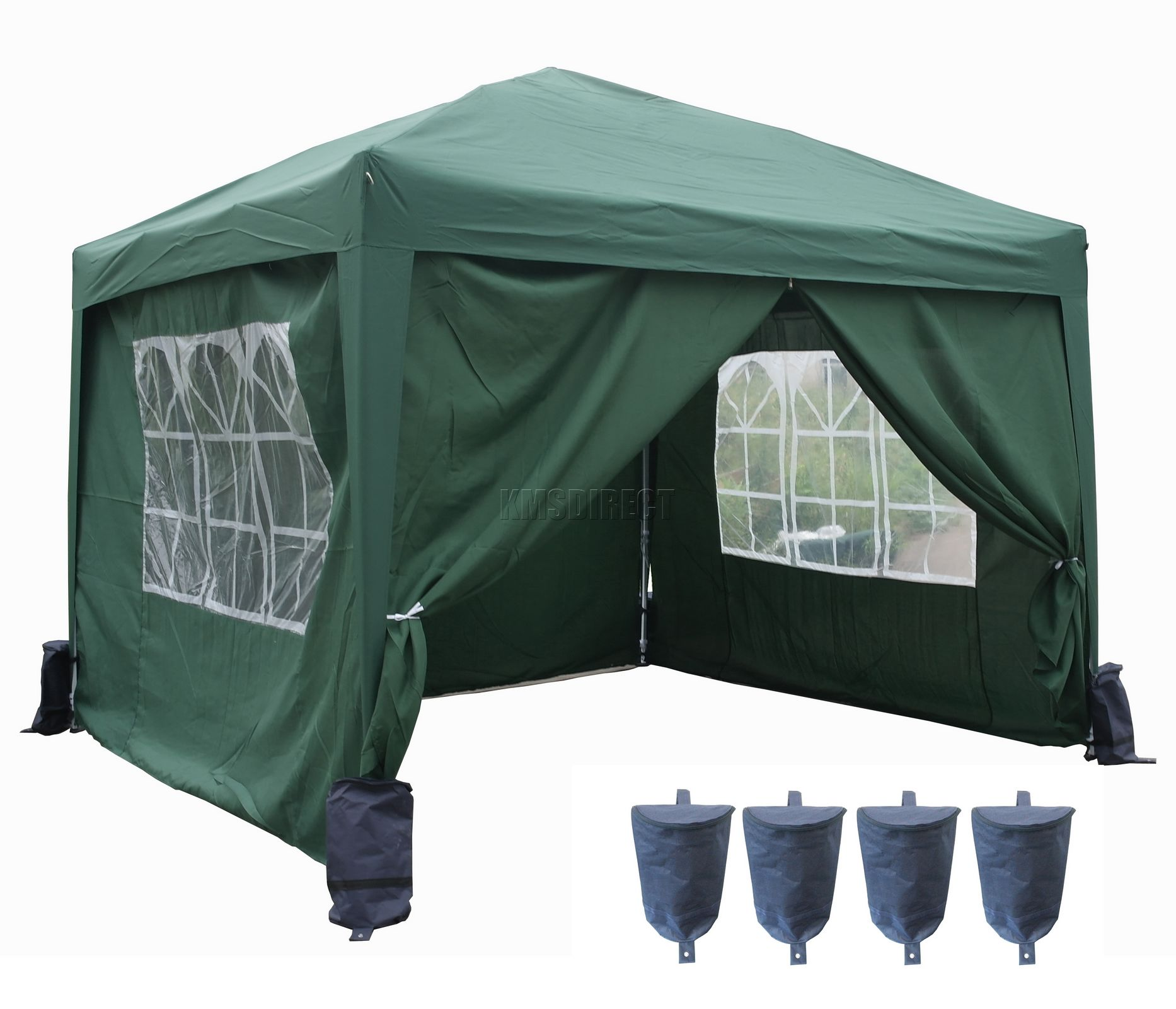 3m X Pop Up Gazebo Waterproof Canopy