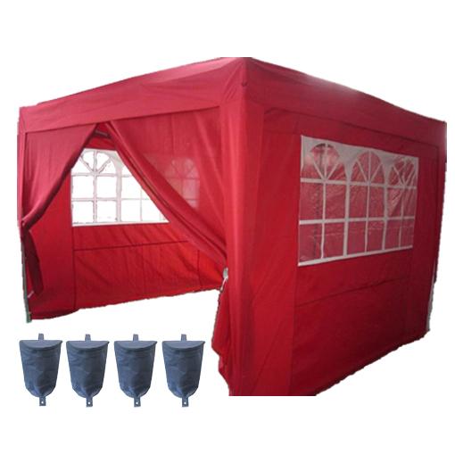 3m X Pop Up Gazebo Waterproof Canopy