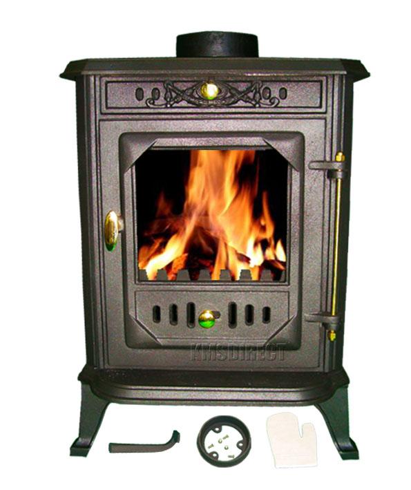 gusseisen holzofen mehrstoffbrenner holz verbrennen 8 kw ofen ebay. Black Bedroom Furniture Sets. Home Design Ideas