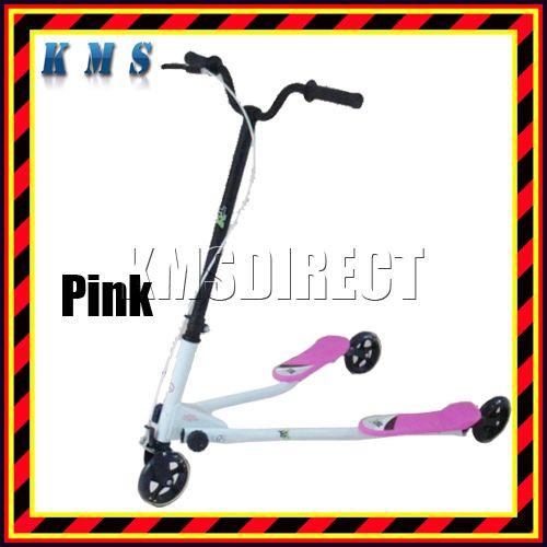3-Wheels-Tri-Motion-Slider-Winged-Scooter-Kids-Ride-On-Drifter-Striker