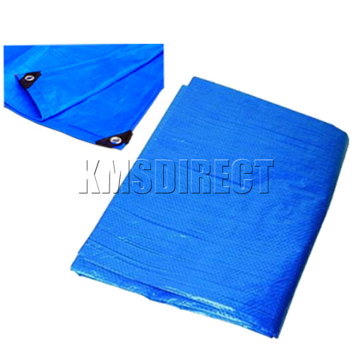 Tarpaulin Groundsheet Heavy Duty Waterproof Cover Camping Tarp Sheet All Sizes