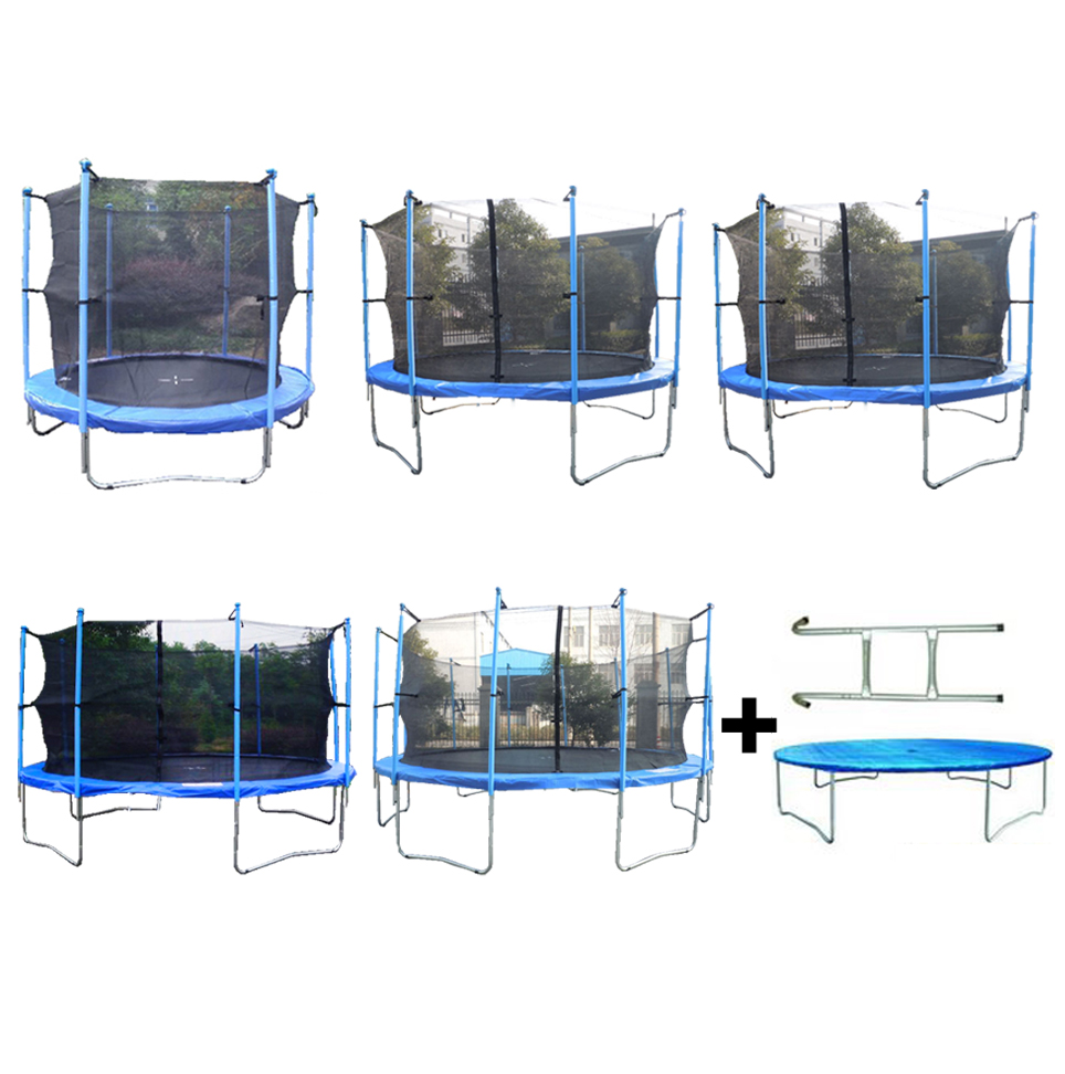 8ft 10ft 12ft 14 Replacement Trampoline Safety Spring: 8FT 10FT 12FT 14FT 16FT Trampoline With Ladder Rain Cover