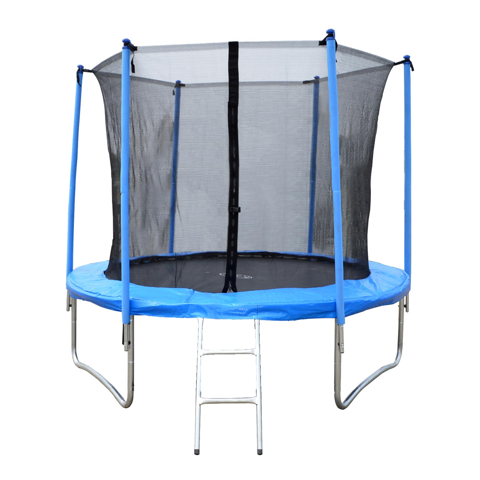 8FT 10FT 12FT 14FT 16FT Trampoline With Ladder Rain Cover