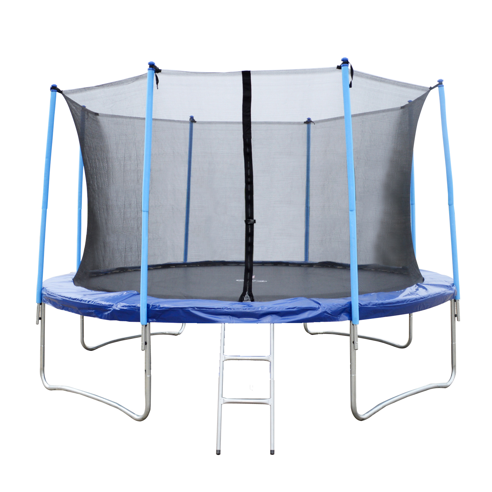 8FT 10FT 12FT 14FT 16FT Trampoline With Ladder Rain Cover