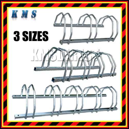 Aluminium Bike Racks Bicycle Rack Security Storage Stand Wall Floor Mounted