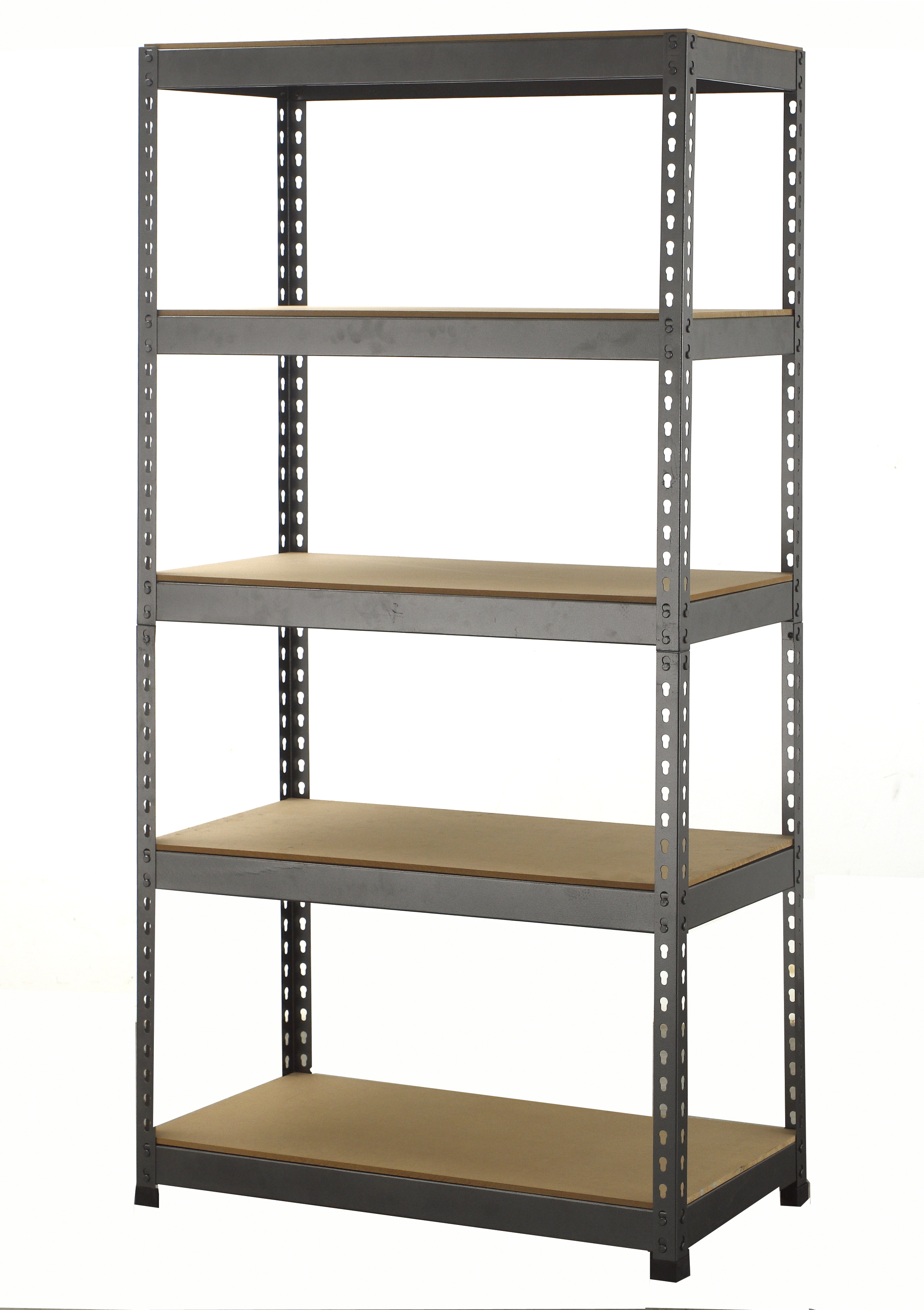 5 tier boltless industrial racking garage shelving storage. Black Bedroom Furniture Sets. Home Design Ideas