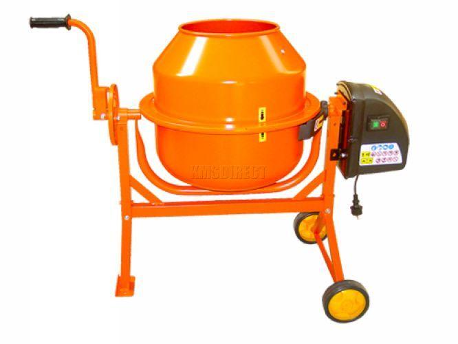 Portable Electric Mixer ~ Electric cement mixer l litre v volt w portable