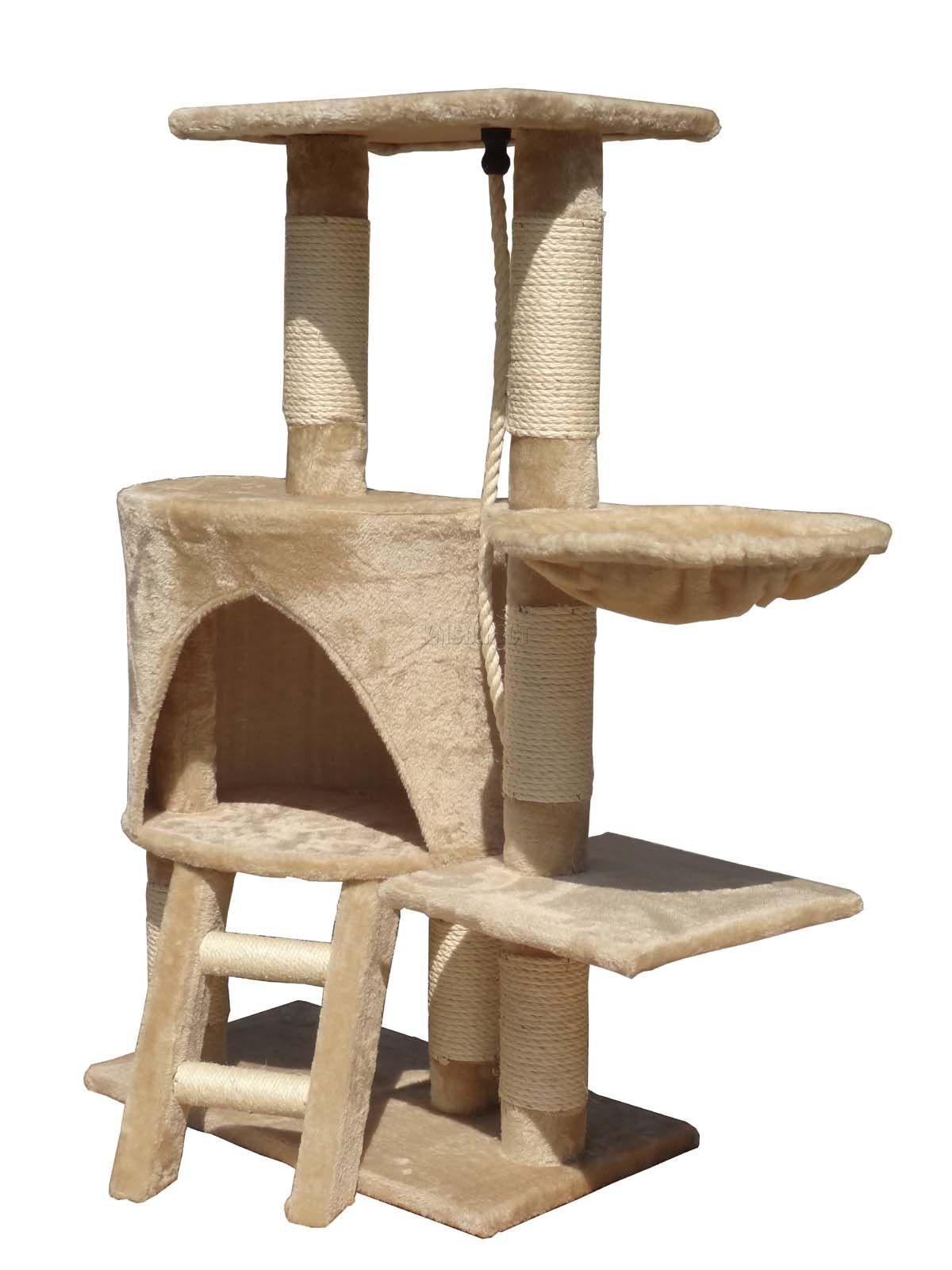 cat activity centre scratch scratcher scratching post toys. Black Bedroom Furniture Sets. Home Design Ideas