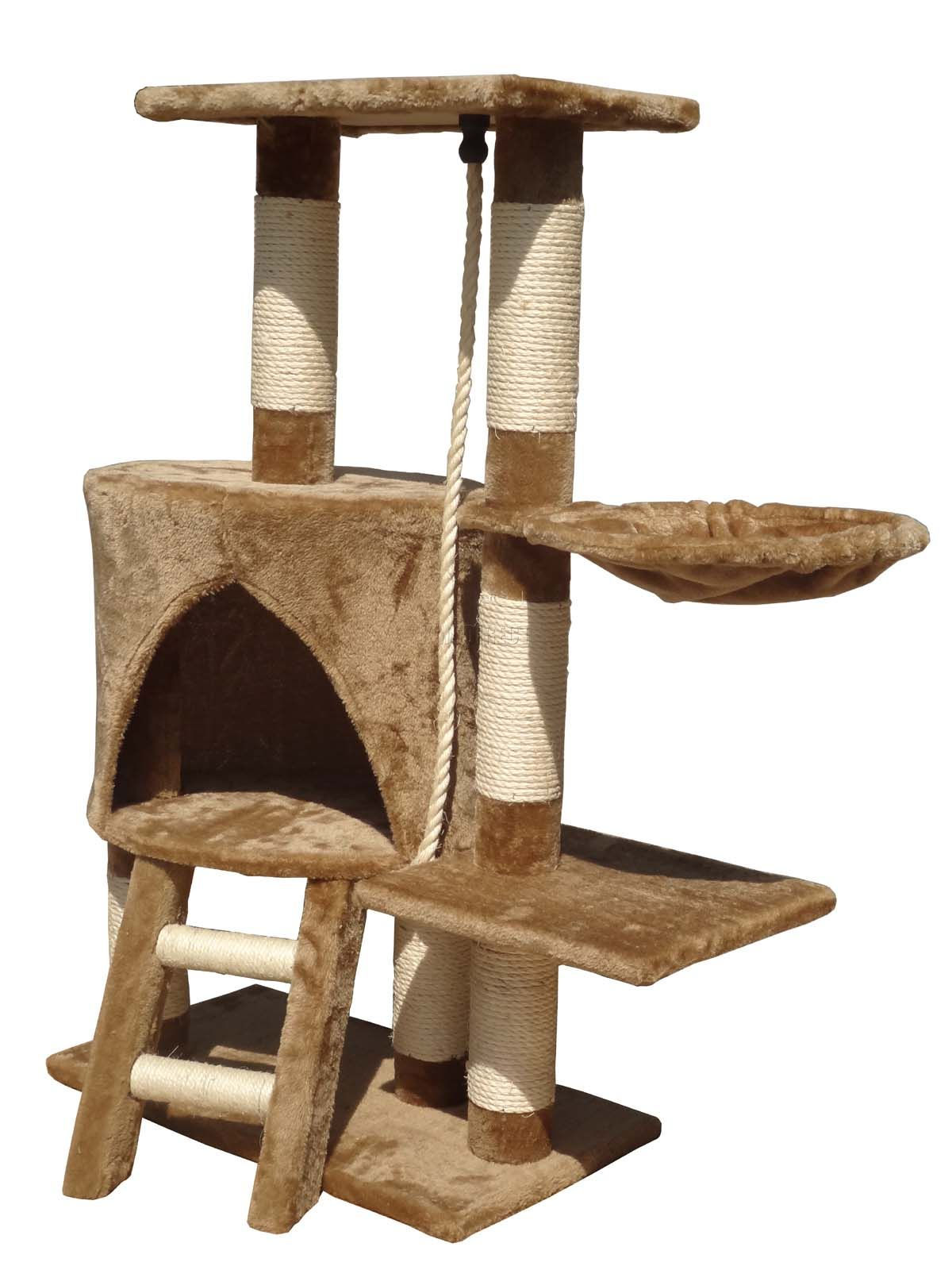 New Brand Domestic Delivery Cat Toys Swinging The Ball Furniture&Scratchers Cat Tree House