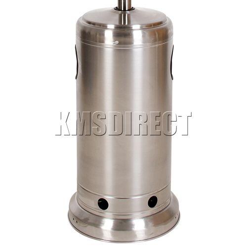 Patio Heater Gas Regulator Problems: Outdoor Gas BBQ Patio Heater Butane Propane LPG Stainless