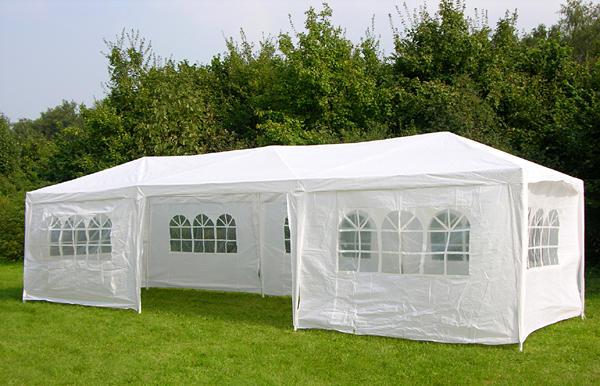 New 3m X 9m Waterproof Outdoor Garden Pop Up Gazebo Party Tent