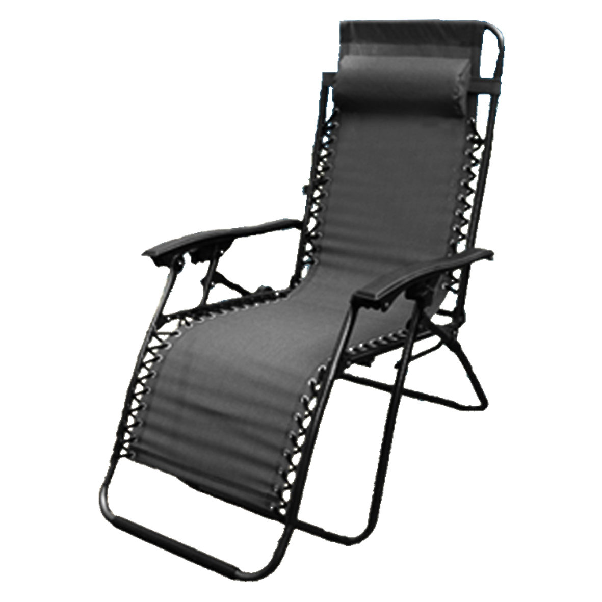 Camping Recliner Chairs New Zero Gravity Garden Reclining Recliner Relaxer Lounger ...