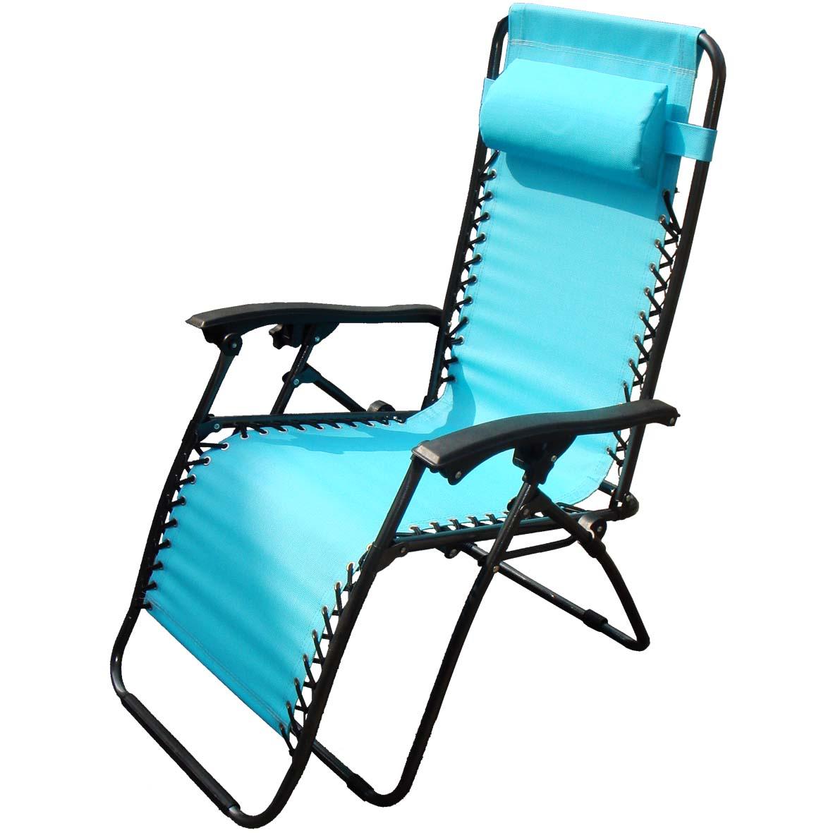 New Zero Gravity Garden Reclining Recliner Relaxer Lounger Lounge Chair Campi