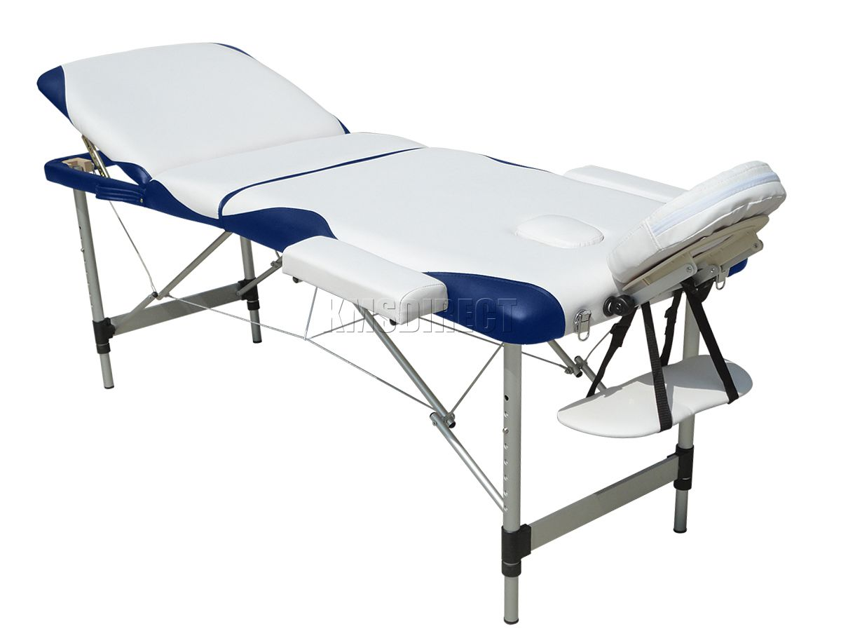 3 section lightweight portable folding massage table for Foldable beauty table
