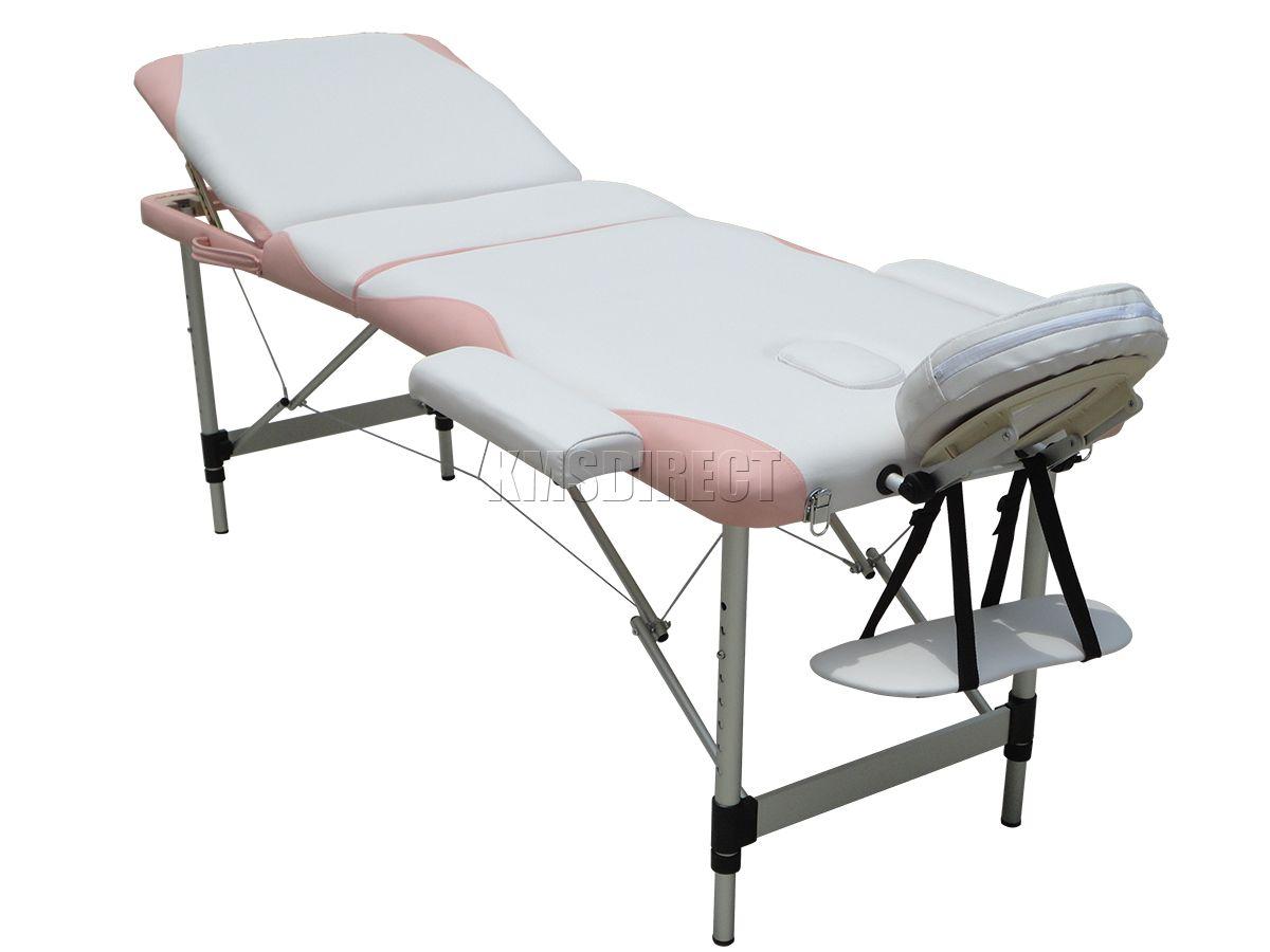 Portable Folding Massage Bed Lightweight 3 Section Beauty ...