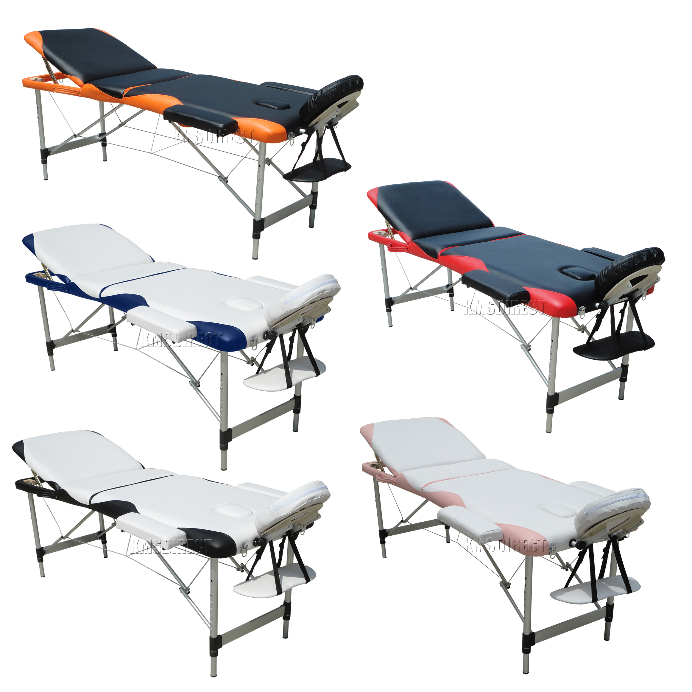 Lightweight portable folding massage table beauty salon for Table salon retractable