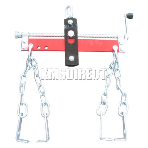 1500LB 750KG Heavy Duty Engine Crane Hoist Lift Leveller Chain Load Garage New