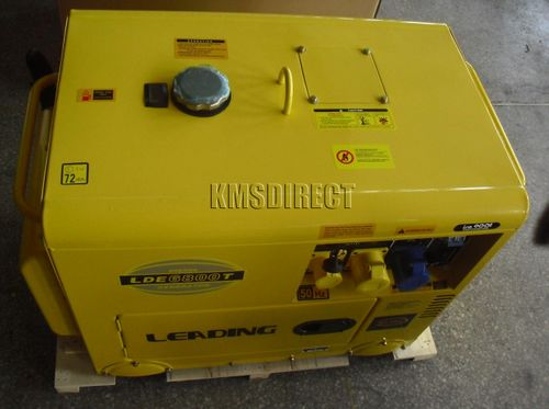 leading lde6800t diesel generator manual