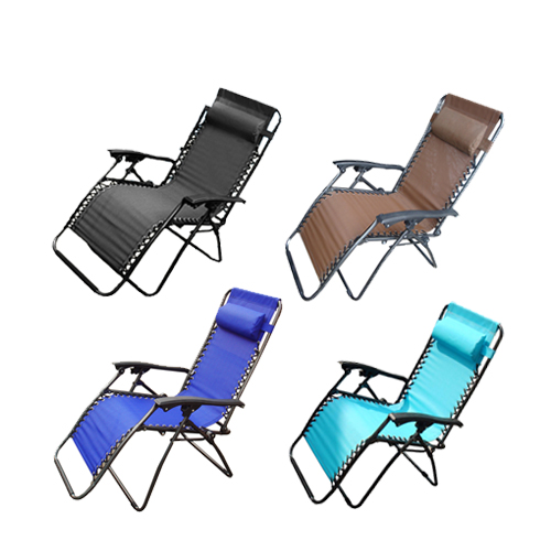 Garden Zero Gravity Reclining Recliner Relaxer Lounger Lounge Chair Camping N