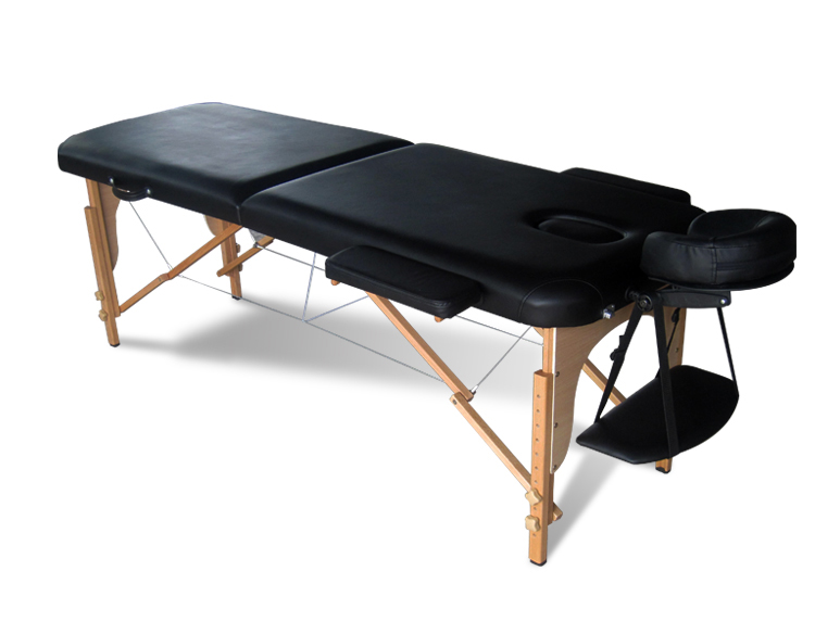 Portable folding massage table tattoo therapy beauty salon for Table salon retractable