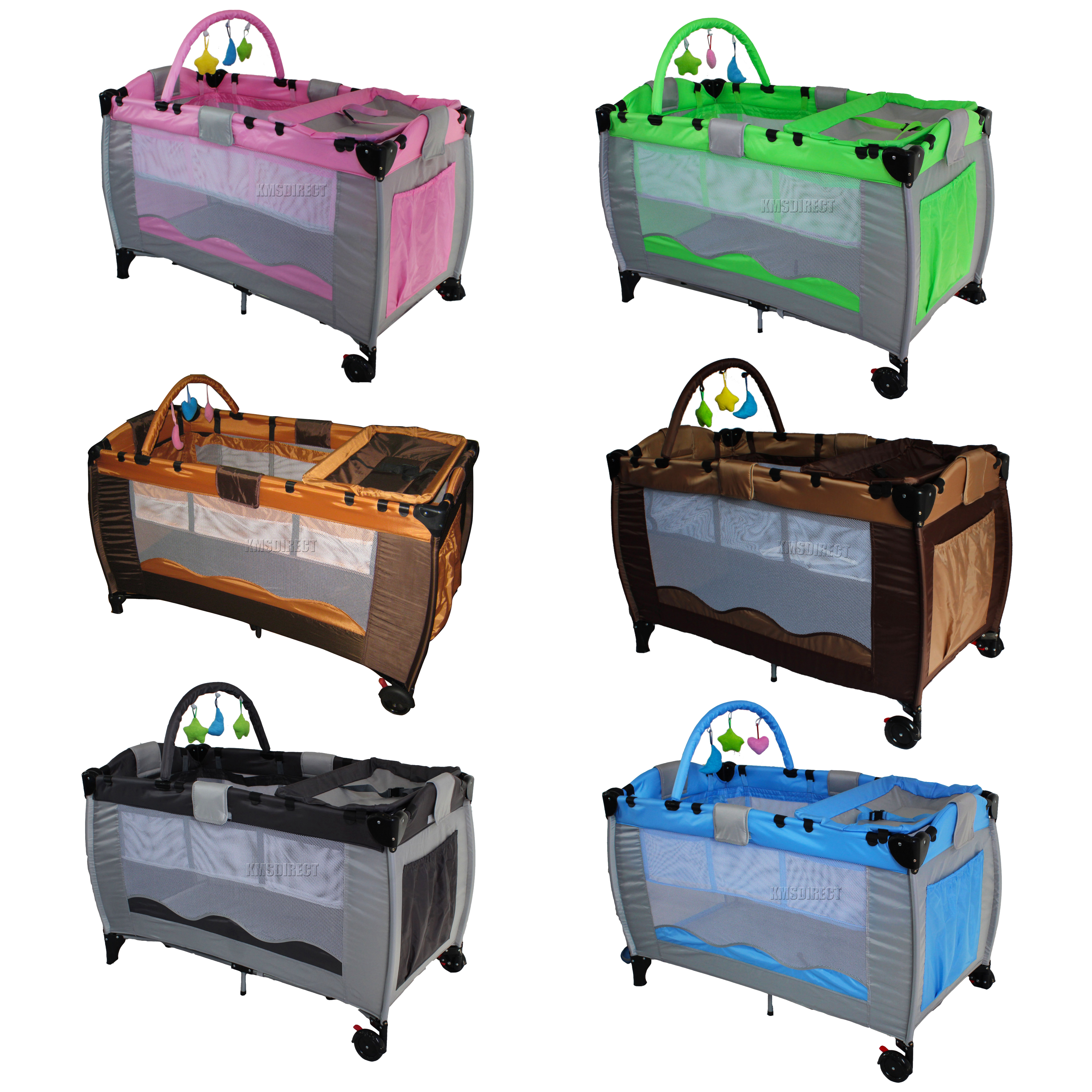 new portable child baby travel cot bed bassinet playpen play pen  - new portable child baby travel cot bed bassinet playpen play pen withentryway