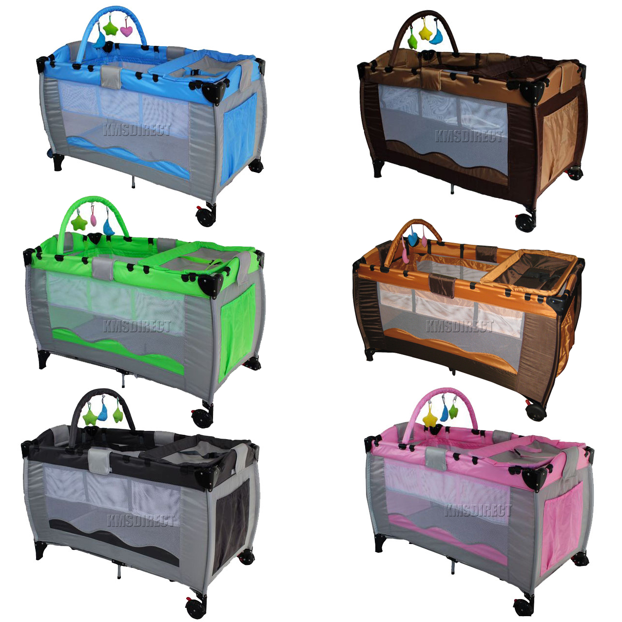 New Portable Child Baby Travel Cot Bed Bassinet Playpen