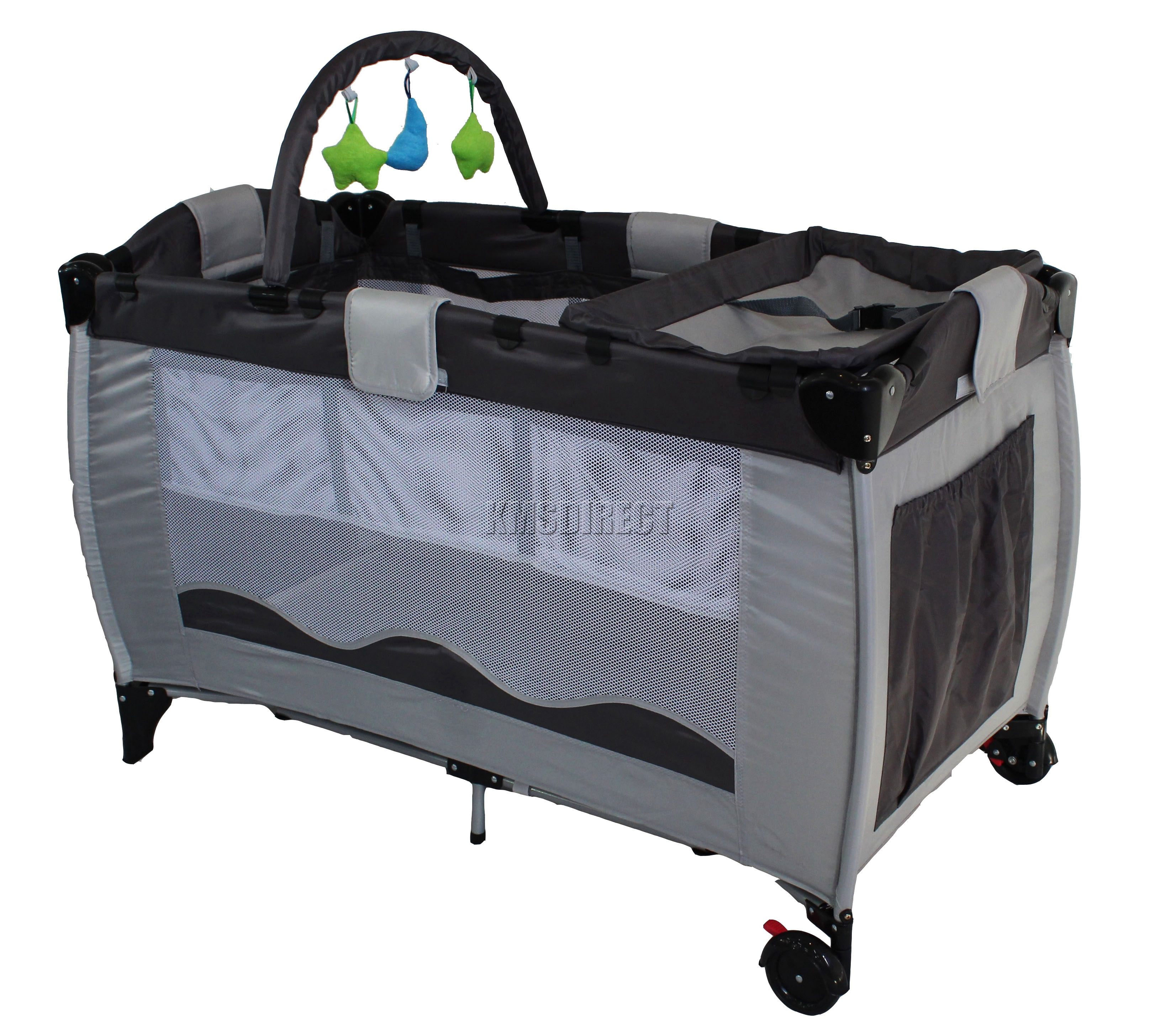 portable playpen - new portable child baby travel cot bed bassinet playpen play pen