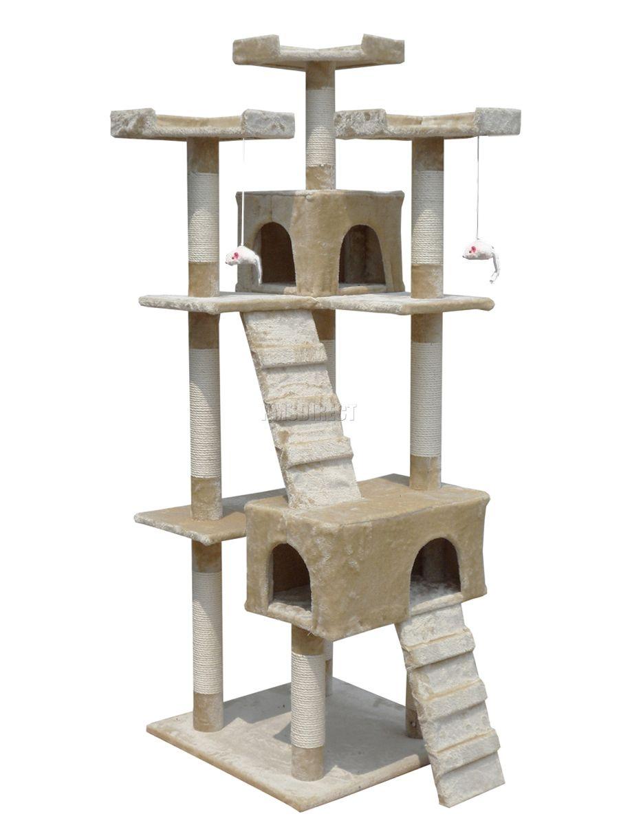 Cat Kitten Scratching Post Tree Scratcher Activity Centre