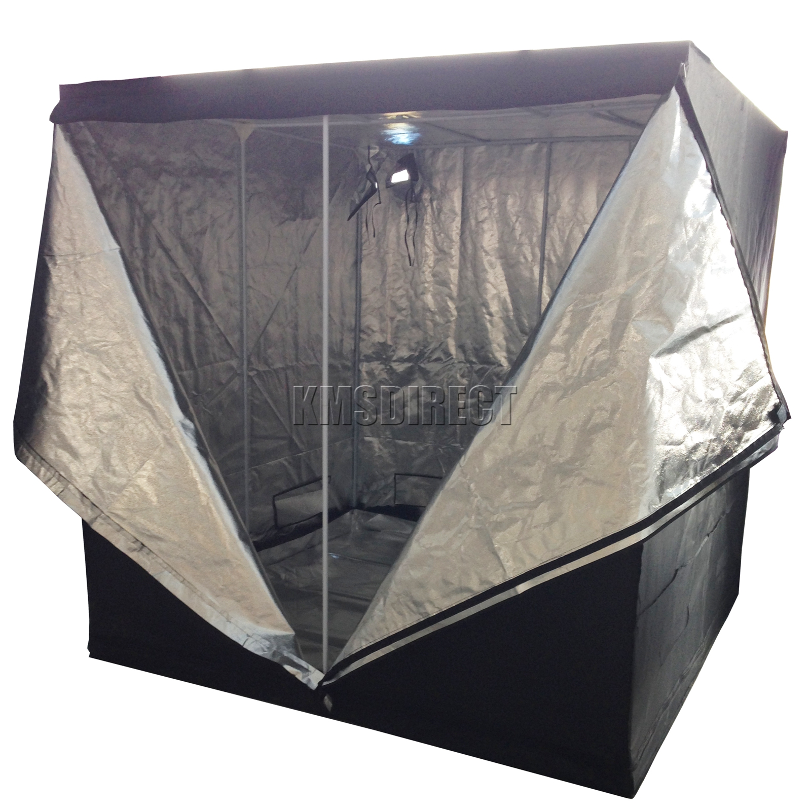 New-Indoor-Grow-Tent-Box-Silver-Mylar-Lined-  sc 1 st  eBay & New Indoor Grow Tent Box Silver Mylar Lined Bud Dark Green Room ...