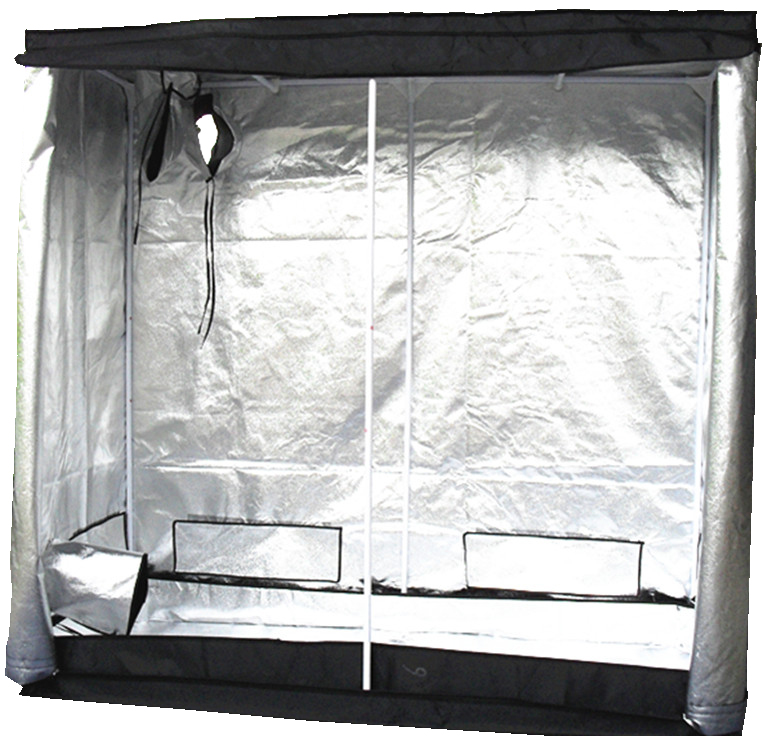 New-Indoor-Grow-Tent-Box-Silver-Mylar-Lined- & New Indoor Grow Tent Box Silver Mylar Lined Bud Dark Green Room ...