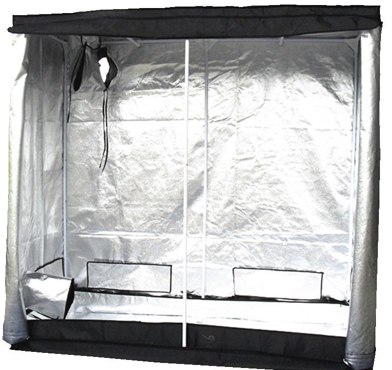 Indoor-Portable-Grow-Tent-Bud-Dark-Green-Room- & Indoor Portable Grow Tent Bud Dark Green Room Silver Mylar Lined ...