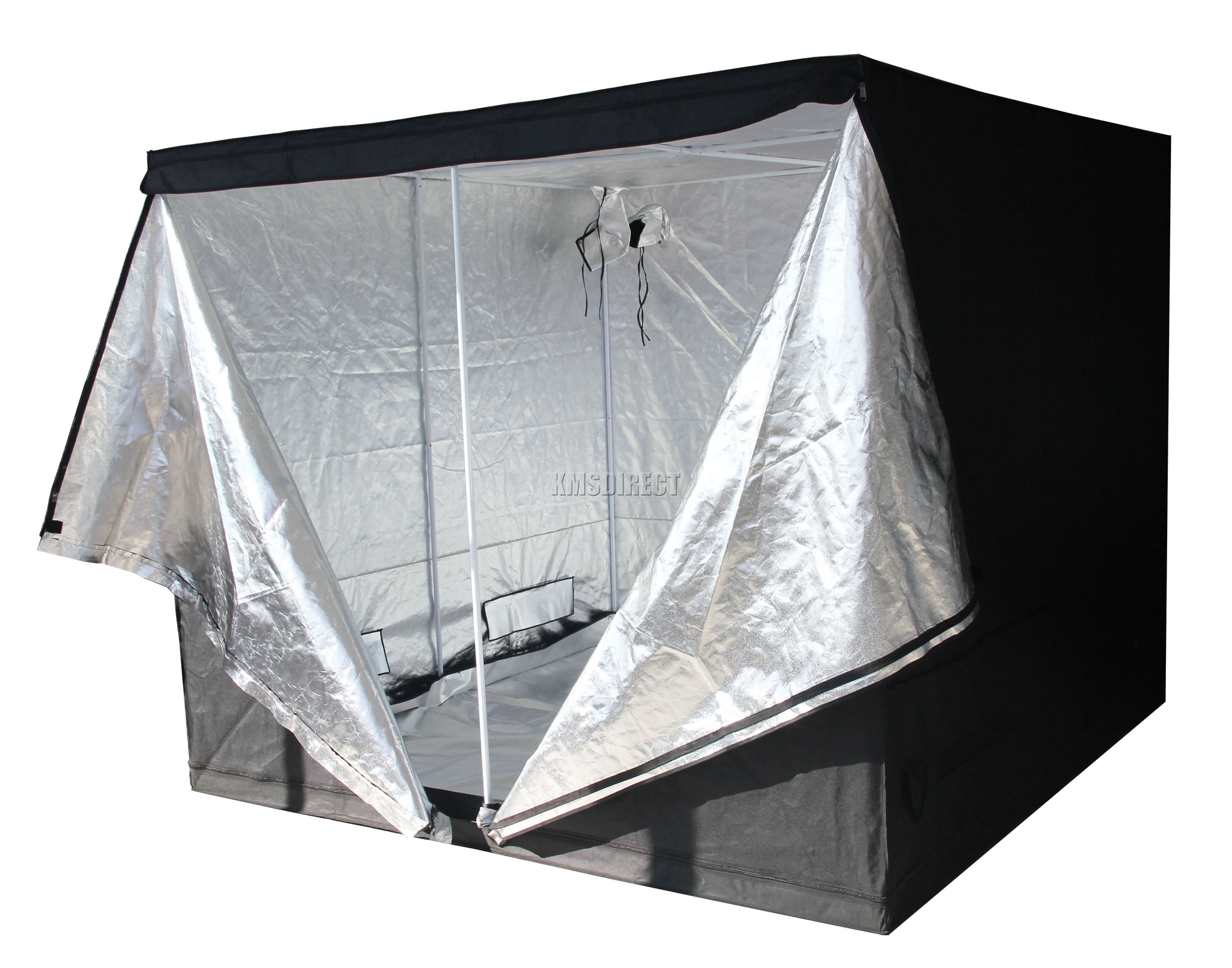 Indoor-Portable-Grow-Tent-Bud-Dark-Green-Room-  sc 1 st  eBay & Indoor Portable Grow Tent Bud Dark Green Room Silver Mylar Lined ...
