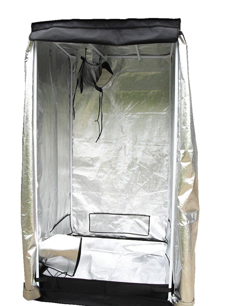 Indoor-Portable-Grow-Tent-Bud-Dark-Green-Room-  sc 1 st  eBay & Indoor Portable Grow Tent Bud Dark Green Room Silver Mylar Lined ...