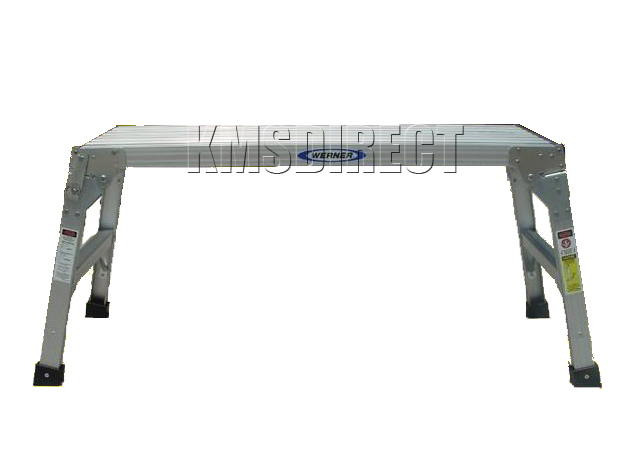 Aluminium Folding Step Hop Up Work Platform Bench Stage