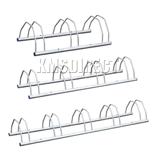 New Wall Floor Mounted Security Bike Racks Bicycle Rack Storage Stand Galvanised