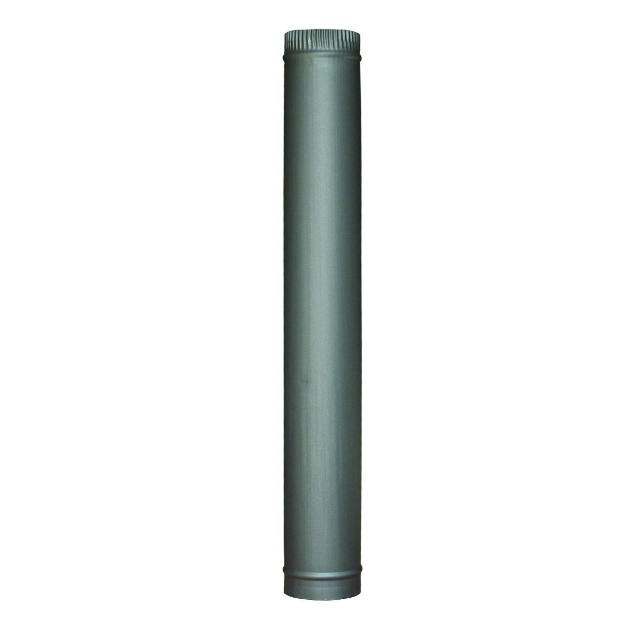 Steel Matt Black Chimney Flue Pipes 5 6 For Multifuel Wood Log