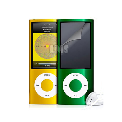 clear lcd screen protector for apple ipod nano 5g uk ebay. Black Bedroom Furniture Sets. Home Design Ideas