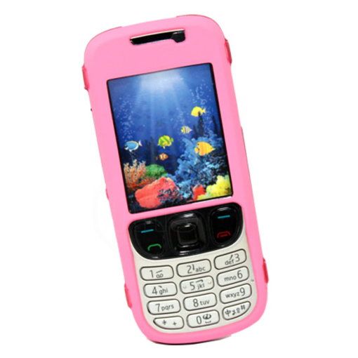 baby pink hybrid hard case cover for nokia 6303 classic ebay. Black Bedroom Furniture Sets. Home Design Ideas