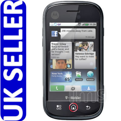 PRIVACY SCREEN PROTECTOR FOR MOTOROLA DEXT MB220 CLIQ Enlarged Preview