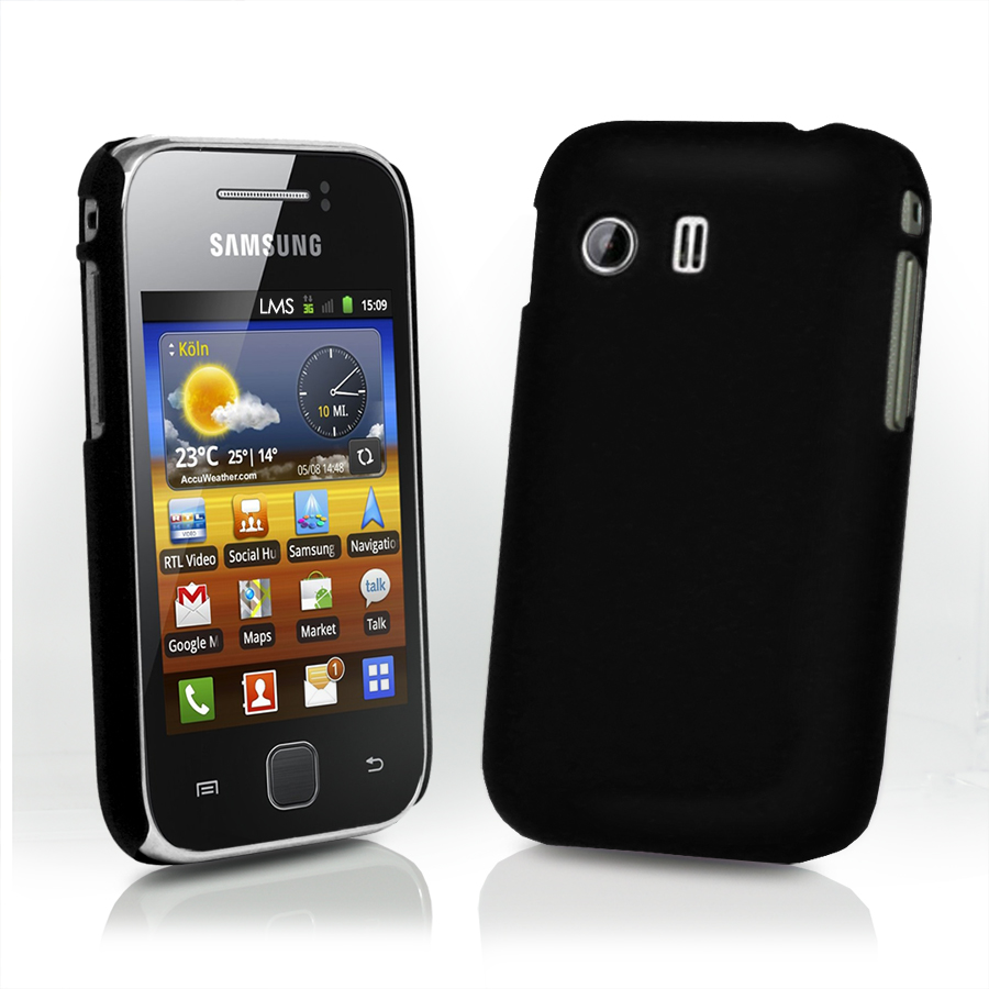 hybrid hard case cover for samsung galaxy y s5360 lcd