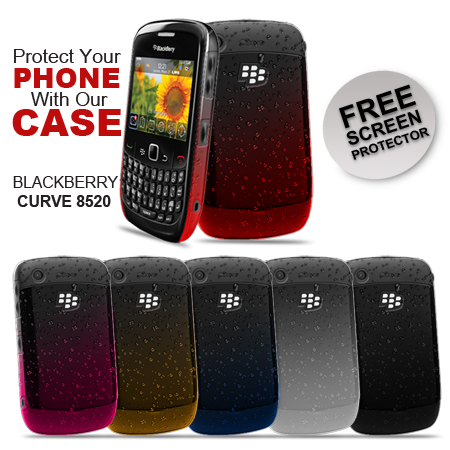 3D-RAIN-DROP-DESIGN-HARD-CASE-COVER-FOR-BLACKBERRY-CURVE-8520-9300-FILM