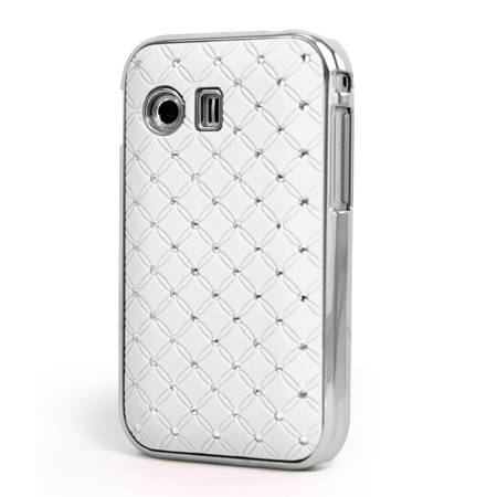 ... DESIGN DIAMANTE BLING CASE COVER FOR SAMSUNG GALAXY Y S5360 | eBay