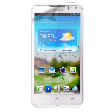 LCD DISPLAY SCREEN PROTECTOR GUARD FOR HUAWEI ASCEND D QUAD Enlarged Preview