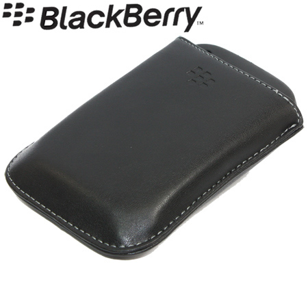 Genuine leather case pouch for blackberry curve 9300 3g ebay for Housse blackberry curve 9300