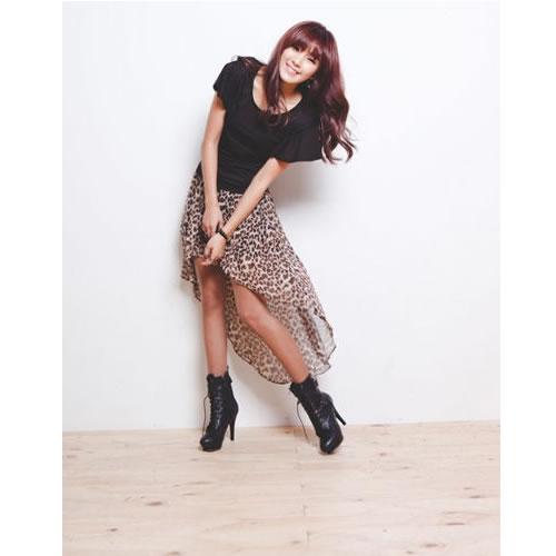 Women-Girl-Chiffon-Sexy-Elegant-Asymmetric-Long-Maxi-Skirt-Elastic-Waist-Band