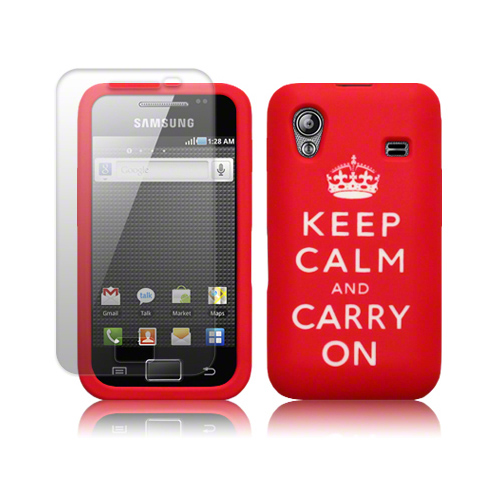SAMSUNG GALAXY ACE S5830 KEEP CALM & CARRY ON CASE Enlarged Preview
