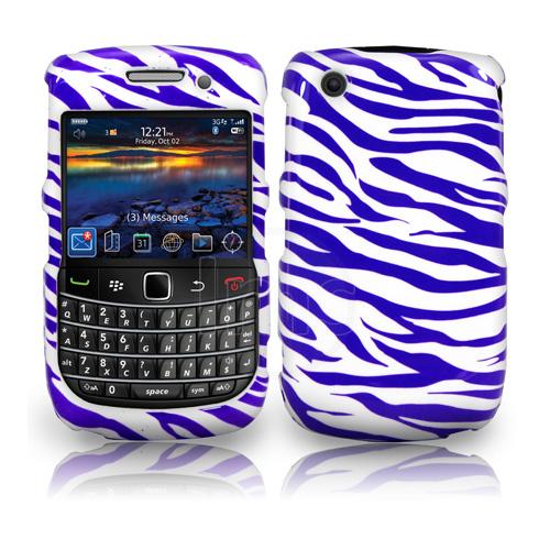 Zebra Style Hard Case For Blackberry Curve 8520 9300 3G
