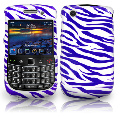 Zebra Style Hard Case For Blackberry Curve 8520 9300 3G Enlarged Preview