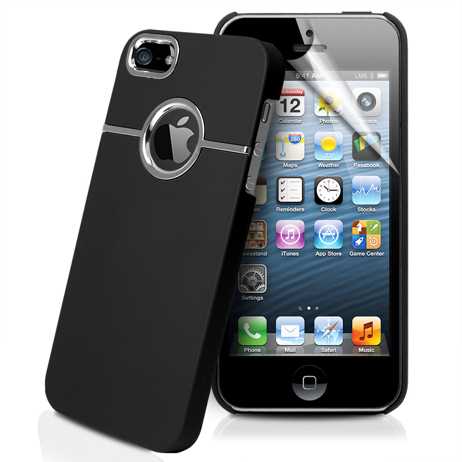 Stylish Chrome Hard Case Cover For Apple iPhone5 iPhone 5 ...